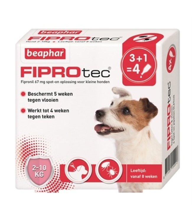 Beaphar fiprotec hond tegen teken en vlooien