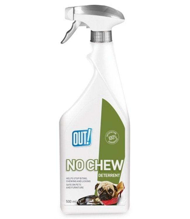 Out! no chew deterrent spray