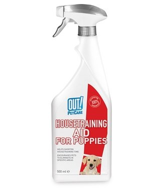 Out! Out! housetraining aid for puppies | Zindelijkheid | 500 ML