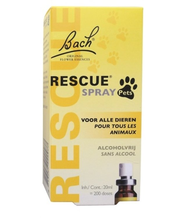 Back rescue spray pets