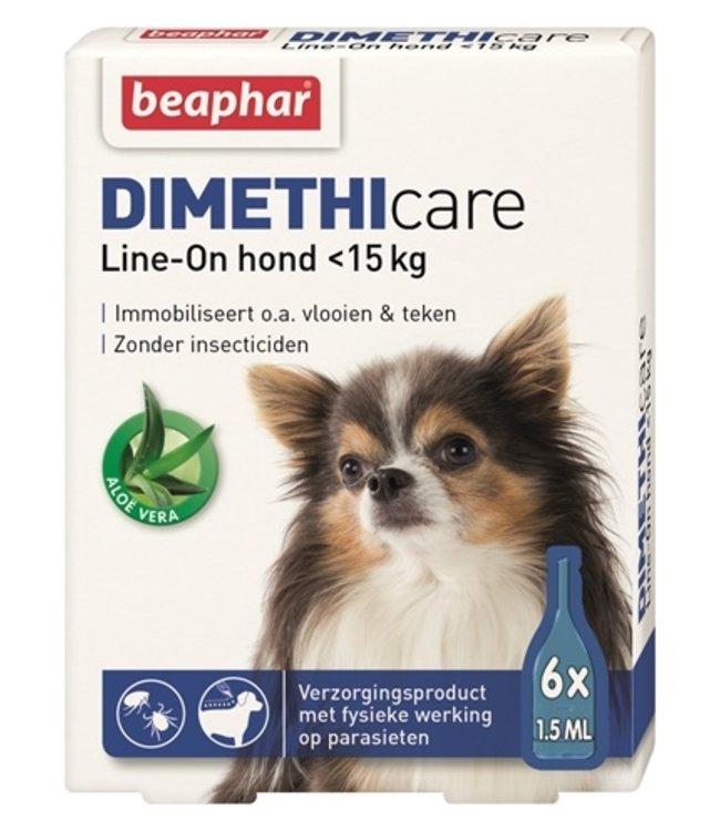Beaphar dimethicare line-on hond tegen vlooien en teken