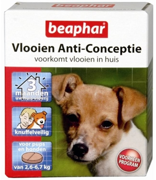 Beaphar vlooien anticonceptie