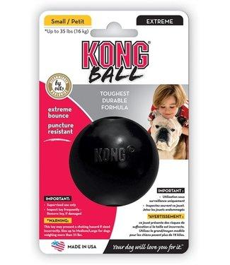 Kong Kong x-treme rubber bal zwart   S/M