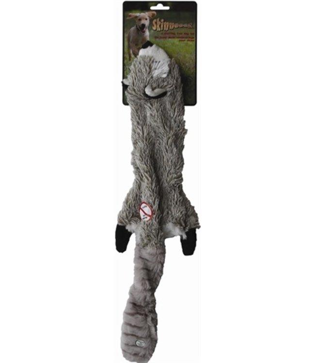 Skinneeez pluche wasbeer