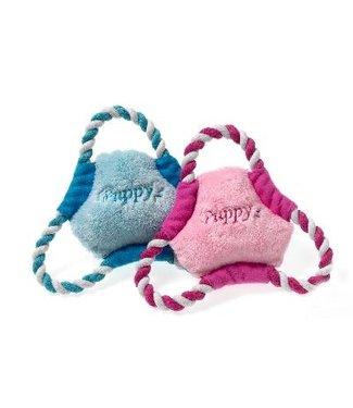 Karlie Karlie puppy frisbee roze of lichtblauw | 17 CM