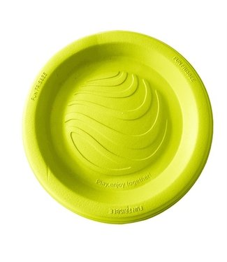 Happy pet Happy pet tough toys flyer geel | Foam frisbee | 22 CM