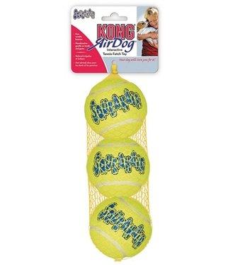 Kong Kong squeakair tennisbal geel   met piep   4/5/6,5/8/10 CM