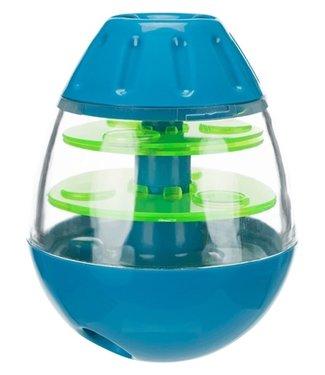 Trixie Trixie roly poly snack tuimel ei blauw / groen | 13 CM