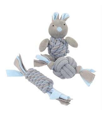 Little rascals Little rascals puppy speelgoed set blauw | 3 stuks