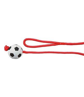 Trixie Trixie voetbal aan touw schuimrubber drijvend | 100 CM