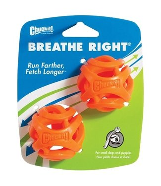 Chuckit Chuckit breathe right fetch bal oranje | 5/6/7 CM