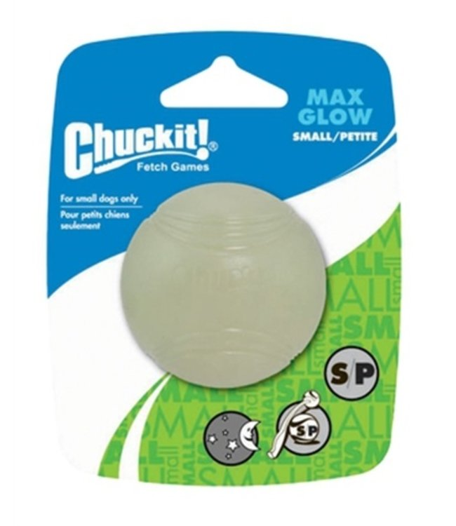 Chuckit max glow bal glow in the dark