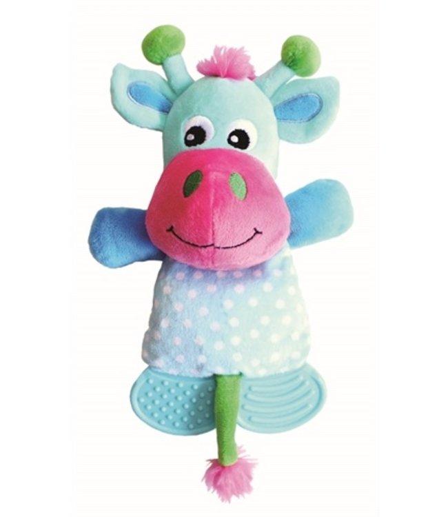 Little rascals play teether koe