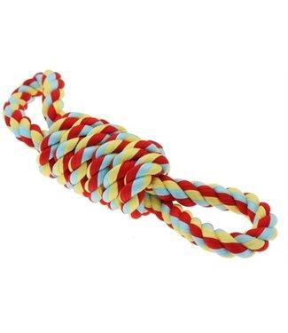 Happy pet Twist-tee coil 8 vormig touw