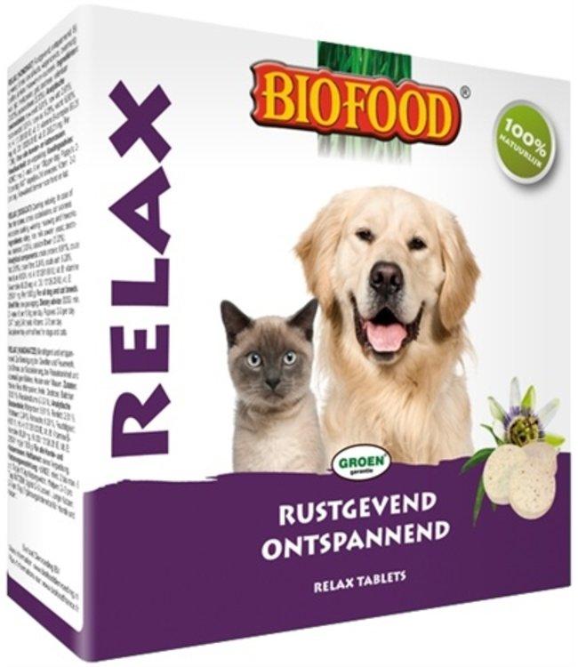 Biofood relax hond/kat rustgevend/kalmerend