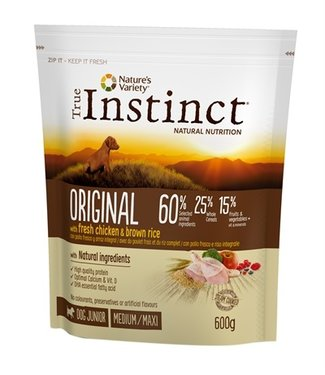 True instinct True instinct original medium junior chicken