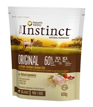 True instinct True instinct original mini adult chicken