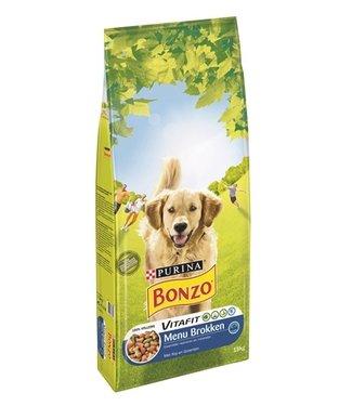 Bonzo Bonzo droog menubrokken kip / groenten