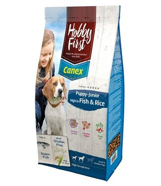 Hobbyfirst canex Hobbyfirst canex puppy/junior brocks rich in fish & rice