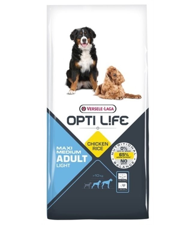 Opti life adult light medium/maxi