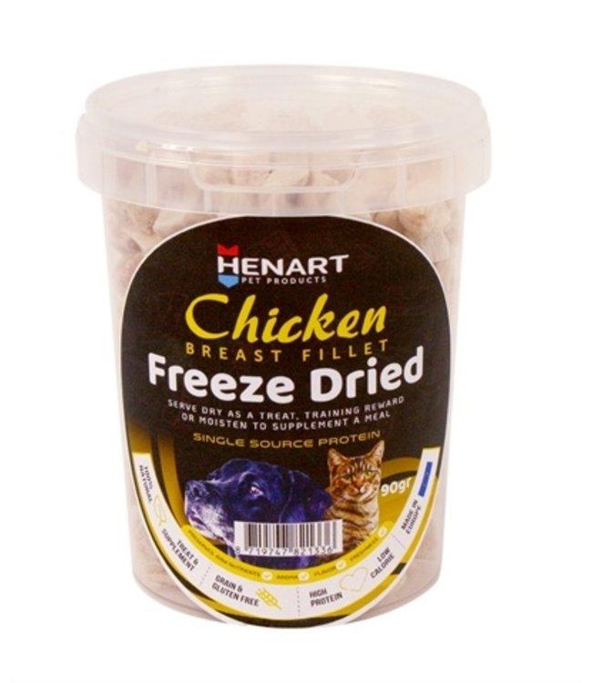 Henart freeze dried chickenbreast fillet