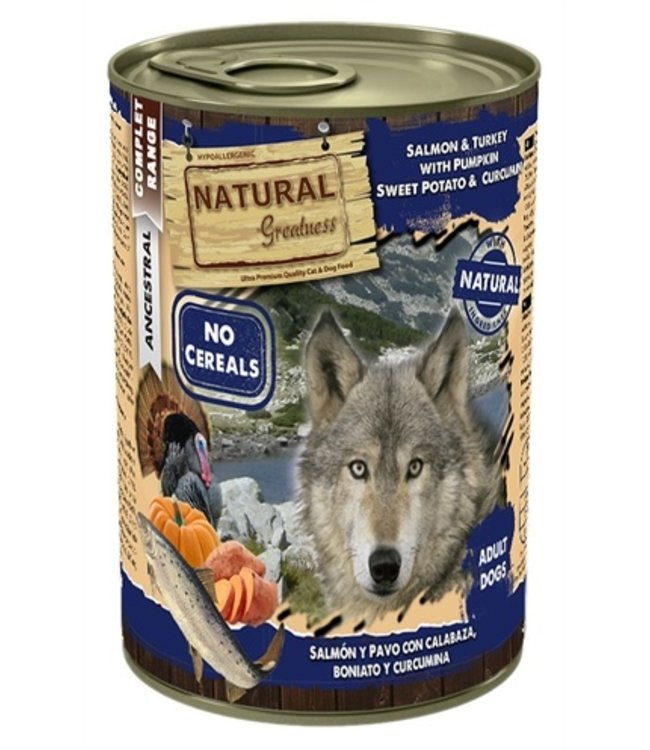 Natural greatness salmon / turkey
