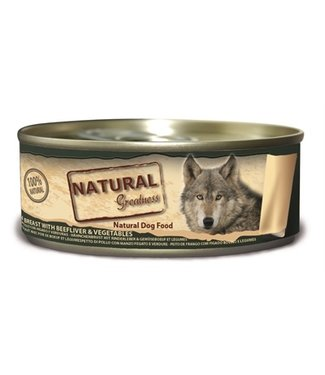 Natural greatness Natural greatness chicken / beef liver | 156 Gram