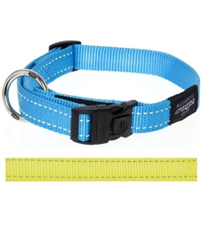 Rogz for dogs snake halsband geel