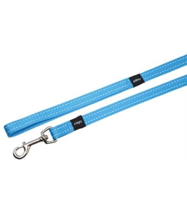 Rogz for dogs snake long lijn turquoise