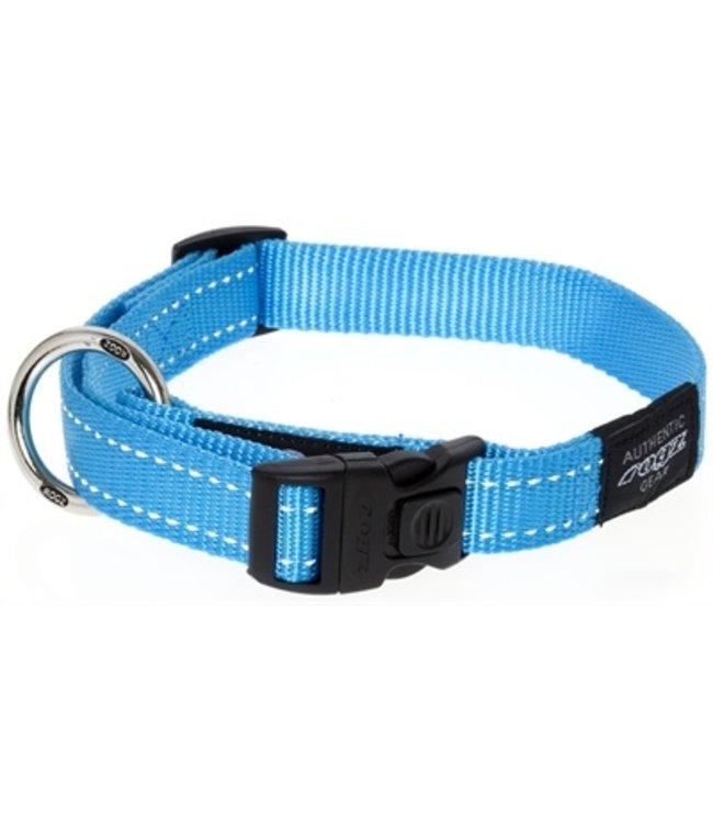 Rogz for dogs fanbelt halsband turquoise