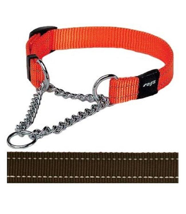 Rogz for dogs snake choker choco