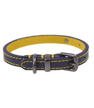 Joules Joules halsband hond leer navy | 25,5-66 CM