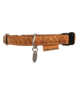 Macleather Macleather halsband bruin | 20-70 CM