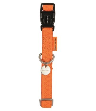 Macleather Macleather halsband oranje | 20-70 CM