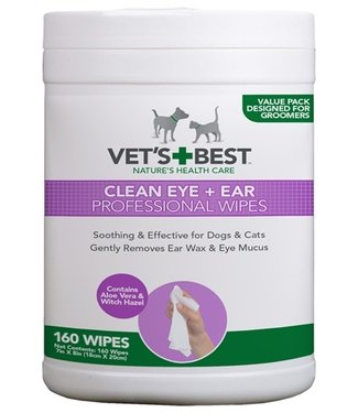 Vets best Vets best clean ear / eye wipes hond