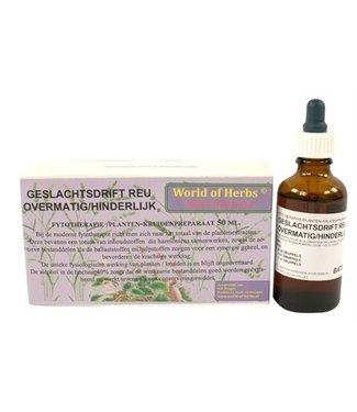 World of herbs World of herbs fytotherapie overmatige geslachtsdrift reu