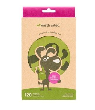 Earth rated Earth rated poepzakjes met handvaten lavendel | 120 stuks