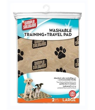 Simple solution Simple solution wasbare puppy training pads | 2 stuks | 76 X 81 CM