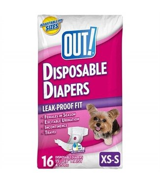 Out! Out! disposable diapers | XS/M 16 Stuks | M/L 14 Stuks