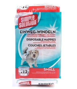 Simple solution Simple solution wegwerp honden luier | S | M | L | XL | 12 Stuks