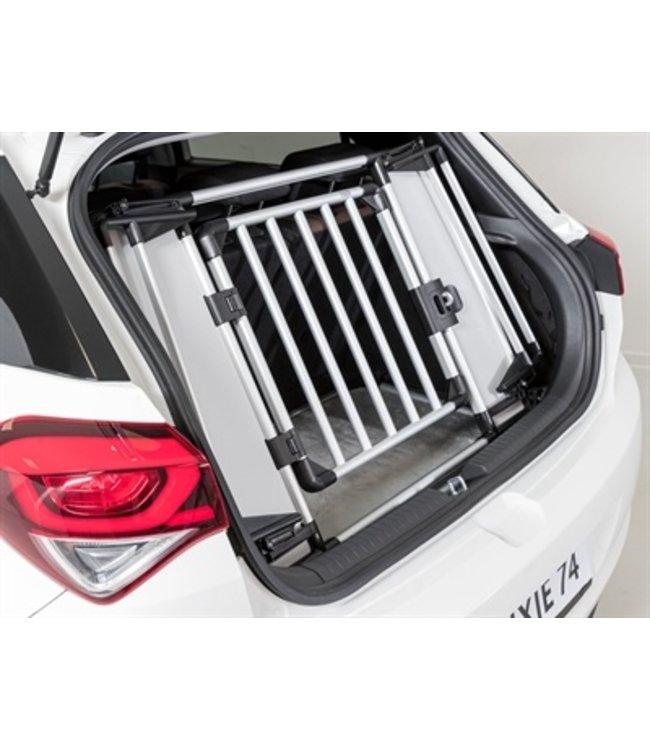 Trixie kofferbak hek aluminium / kunststof grijs / zwart