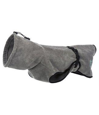 Trixie Trixie badjas hond badstof grijs | 30-70 CM