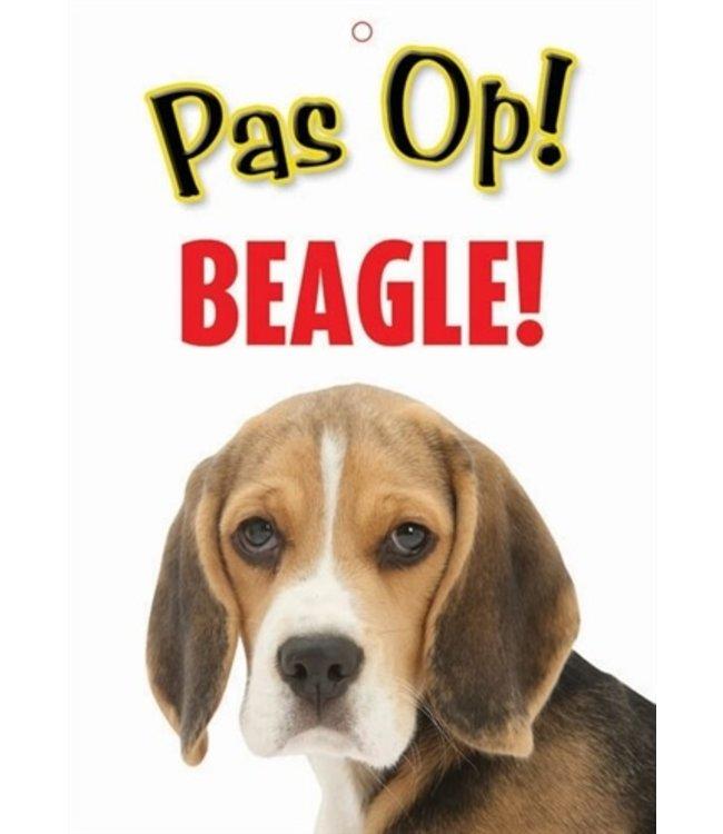 Waakbord nederlands kunststof beagle