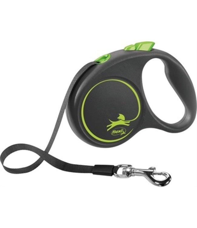 Flexi rollijn black design tape groen