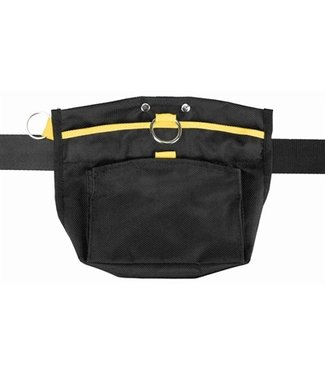 Trixie Trixie sporting snack-zakje zwart / geel | Omvang tot 120 CM