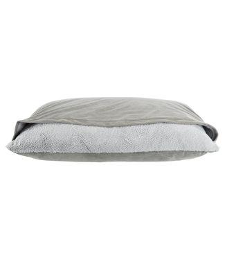 Trixie Trixie hondenkussen melle met deken grijs