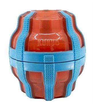 Kong Kong treat spinner voer / snack dispenser oranje / blauw