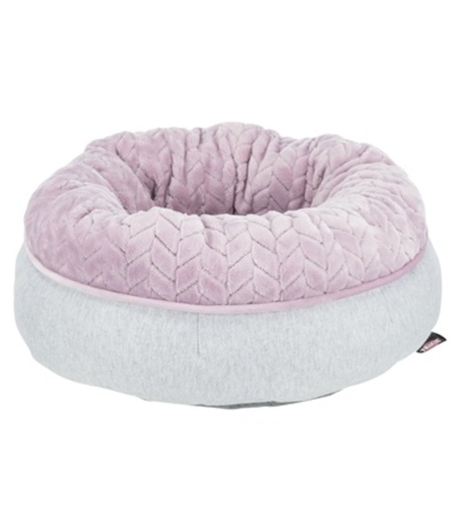 Trixie junior hondenmand donut lichtgrijs / lila