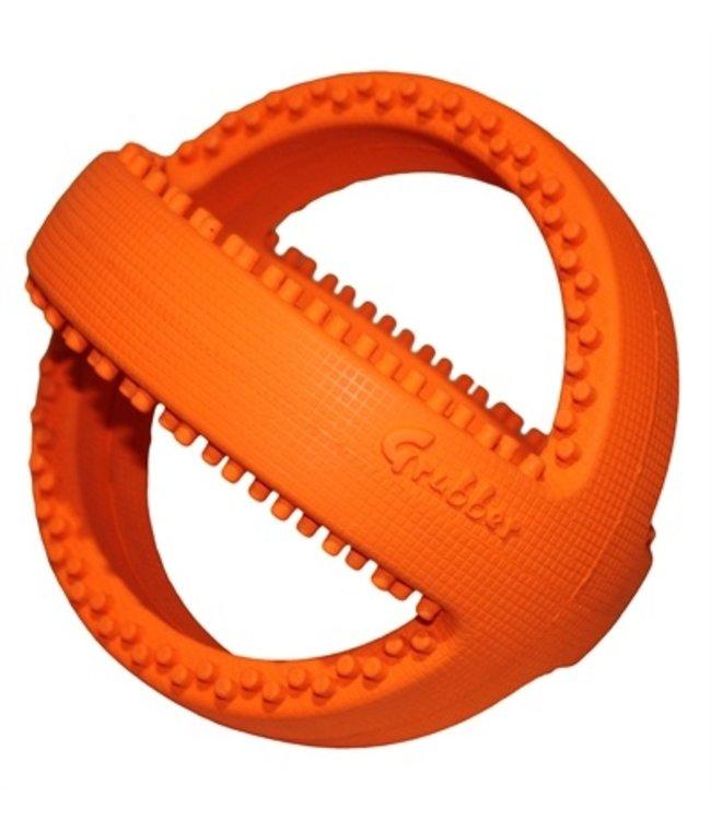 Happy pet grubber interactieve voetbal oranje