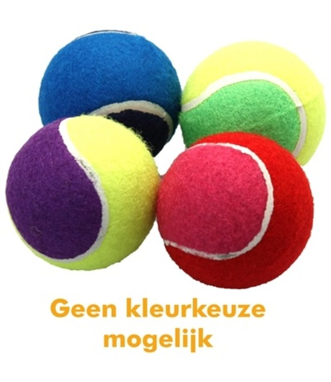 Happy pet tennisbal assorti 4 stuks
